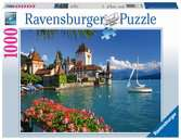 JEZIORO THUN W BERNIE 1000EL Puzzle;Puzzle dla dorosłych - Ravensburger