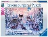 Puzzle 1000 p - Loups arctiques Puzzle;Puzzle adulte - Ravensburger