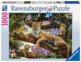 Maman léopard et ses petits Puzzle;Puzzle adulte - Ravensburger