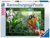 Papegaaien in de jungle Puzzels;Puzzels voor volwassenen - Ravensburger