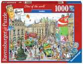 Fleroux - London, cities of the world Puzzels;Puzzels voor volwassenen - Ravensburger