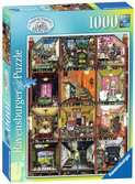 Higgledy Piggledy House, 1000pc Puzzles;Adult Puzzles - Ravensburger