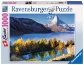 JEZIORO I SZCZYT 1000EL Puzzle;Puzzle dla dorosłych - Ravensburger