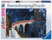 WIADUKT LANDWASSER 1000EL Puzzle;Puzzle dla dorosłych - Ravensburger