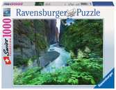 AARESCHLUT W SZWAJCARII 1000EL Puzzle;Puzzle dla dorosłych - Ravensburger
