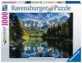 Eibsee met Wettersteingebergte en Zugspitze Puzzels;Puzzels voor volwassenen - Ravensburger