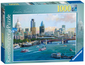 London – Thames Viewpoint, 1000pc Puzzles;Adult Puzzles - Ravensburger
