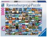 99 Beautiful Places on Earth, 1000pc Puzzles;Adult Puzzles - Ravensburger