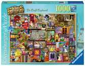Colin Thompson - The Craft Cupboard, 1000pc Puslespil;Puslespil for voksne - Ravensburger