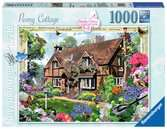 Country Cottage Collection – Peony Cottage, 1000pc Puzzles;Adult Puzzles - Ravensburger