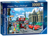 Happy Days – Edinburgh, 1000pc Puzzles;Adult Puzzles - Ravensburger
