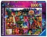 MAGICZNA BIBLIOTECZKA 1000 EL Puzzle;Puzzle dla dorosłych - Ravensburger