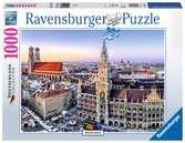 München Puzzle;Erwachsenenpuzzle - Ravensburger