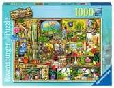 OGRODOWY REGAŁ 1000EL Puzzle;Puzzle dla dorosłych - Ravensburger