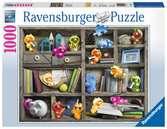 Gelini im Bücherregal Puzzle;Erwachsenenpuzzle - Ravensburger