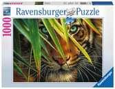 Tigre mystérieux Puzzle;Puzzle adulte - Ravensburger