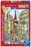 Fleroux Cities of the world : Paris! Puzzle;Puzzles adultes - Ravensburger