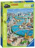 London - The Thames 1000pc Puzzles;Adult Puzzles - Ravensburger