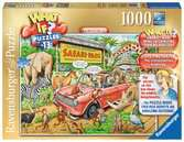 What If? The Safari Park, 1000pc Puzzles;Adult Puzzles - Ravensburger