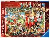 ŚW. MIKOŁAJ Z PREZENTAMI 1000EL Puzzle;Puzzle dla dorosłych - Ravensburger