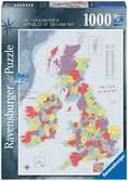 British Isles Map, 1000pc Puzzles;Adult Puzzles - Ravensburger