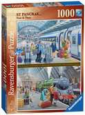 St Pancras Now & Then, 1000pc Puzzles;Adult Puzzles - Ravensburger