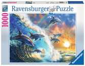 Dancing Dolphins Jigsaw Puzzles;Adult Puzzles - Ravensburger