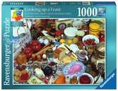 Perplexing Puzzle - Cooking up a Feast, 1000pc Puzzles;Adult Puzzles - Ravensburger