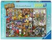 COLIN THOMPSON - THE INVENTOR S CUPBOARD 1000EL Puzzle;Puzzle dla dorosłych - Ravensburger