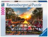 Bicycles in Amsterdam Jigsaw Puzzles;Adult Puzzles - Ravensburger