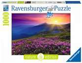Early morning mountains Puslespil;Puslespil for voksne - Ravensburger