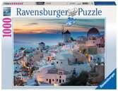 Puzzle 1000 p - Santorin Puzzle;Puzzle adulte - Ravensburger