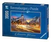 GRAN VIA, MADRYT 1000EL Puzzle;Puzzle dla dorosłych - Ravensburger