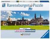 Dresden Canaletto Blick Puzzle;Erwachsenenpuzzle - Ravensburger