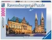 Vista del ayuntamiento, Bremen Puzzles;Puzzle Adultos - Ravensburger