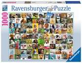 99 Funny Animals, 1000pc Puzzles;Adult Puzzles - Ravensburger