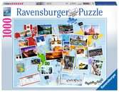 Voyage autour du monde Puzzle;Puzzle adulte - Ravensburger