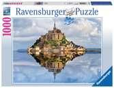 Le Mont Saint-Michel Puzzle;Puzzle adulte - Ravensburger