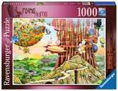 COLIN THOMPSON - FLYING HOME 1000EL Puzzle;Puzzle dla dorosłych - Ravensburger