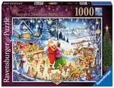 Santa s Christmas Party, Limited Edition, 1000pc Puzzles;Adult Puzzles - Ravensburger