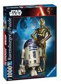 Star Wars Ultimate Collection R2-D2 e C-3PO Puzzles;Puzzle Adultos - Ravensburger