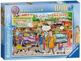 Best of British - Used Car Lot, 1000pc Puzzles;Adult Puzzles - Ravensburger