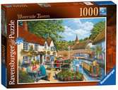 Waterside Tavern, 1000pc Puzzles;Adult Puzzles - Ravensburger
