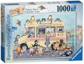 Crazy Cats - Sunset Ices, 1000pc Puzzles;Adult Puzzles - Ravensburger