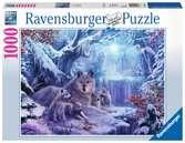 Wolven in de winter Puzzels;Puzzels voor volwassenen - Ravensburger