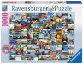 99 Beautiful Places in the USA & Canada, 1000pc Puzzles;Adult Puzzles - Ravensburger