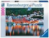 BERGEN, NORWEGIA 1000EL Puzzle;Puzzle dla dorosłych - Ravensburger