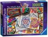 La scrivania dell'artista Puzzle;Puzzle da Adulti - Ravensburger