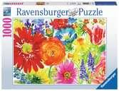 BUJNOŚĆ KWIATÓW 1000 EL. Puzzle;Puzzle dla dorosłych - Ravensburger
