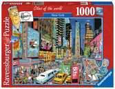 Fleroux - New York, cities of the world Puzzle;Puzzles adultes - Ravensburger